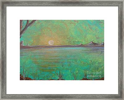 Winter Solitude 7 Framed Print