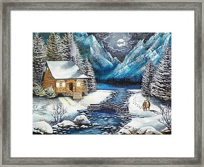 Winter Solstice Framed Print by Kevin F Heuman