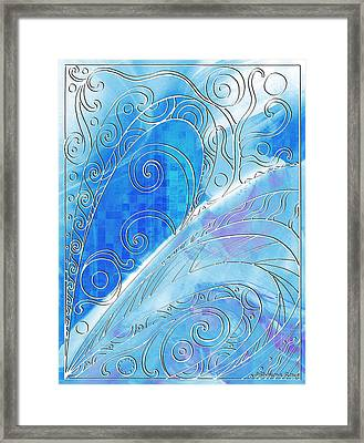 Winter Solstice  Framed Print by Shawna Rowe