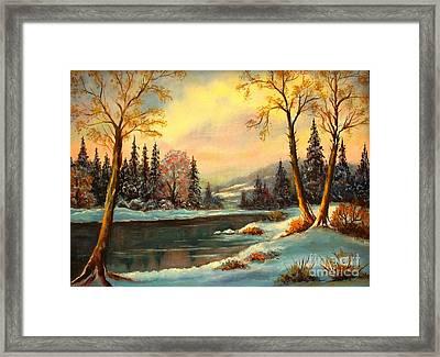 Winter Splendor Framed Print