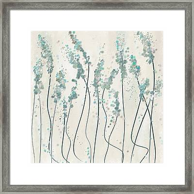 Winter Spring Framed Print by Lourry Legarde