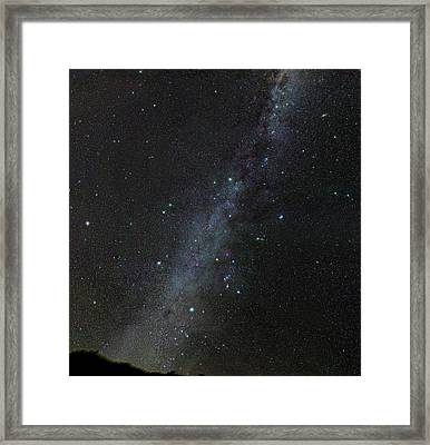 Winter Stars Without Light Pollution Framed Print by Eckhard Slawik