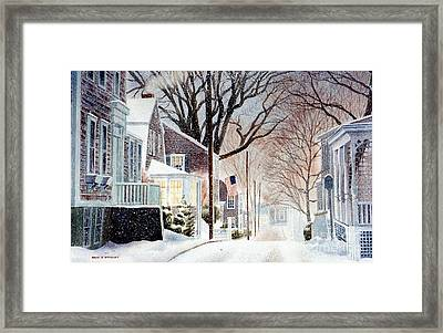 Winter Still Framed Print