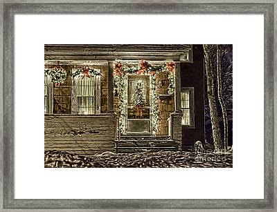 Winter Storm Collection Iv Framed Print