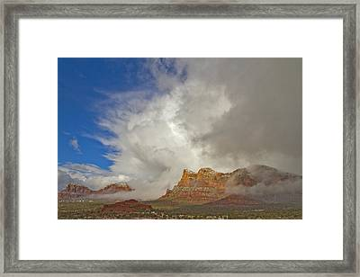 Winter Storm Framed Print by Tom Kelly