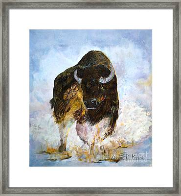 Winter Strength Framed Print by Anderson R Moore