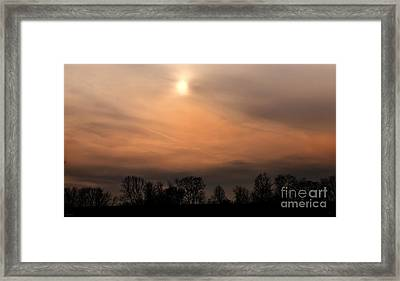 Winter Sun Framed Print by Gerlinde Keating - Galleria GK Keating Associates Inc