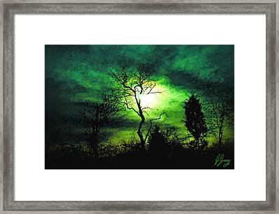 Winter Sun Framed Print by Joshua Zaring