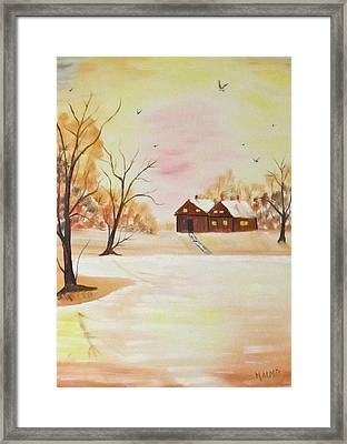 Winter Sun Framed Print by Larry Marano