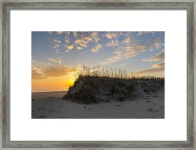 Framed Print featuring the photograph Winter Sunrise by Gregg Southard
