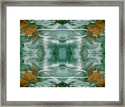 Winter Symmetry Framed Print