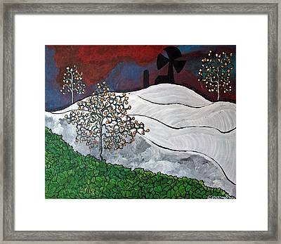 Winter Thaw Framed Print by Matthew  James