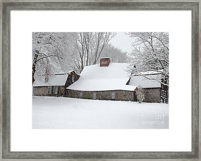 Winter At The Fairbanks Framed Print