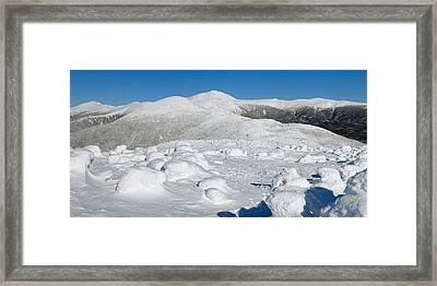 Winter View From Mount Pierce Framed Print