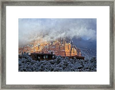 Winter View Framed Print