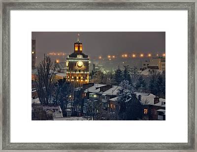 Winter Vinnitsa 03 Framed Print by Zoriy Fine