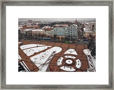 Winter Vinnitsa 05 Framed Print by Zoriy Fine