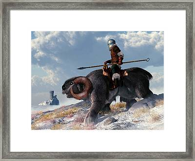 Winter Warrior Framed Print