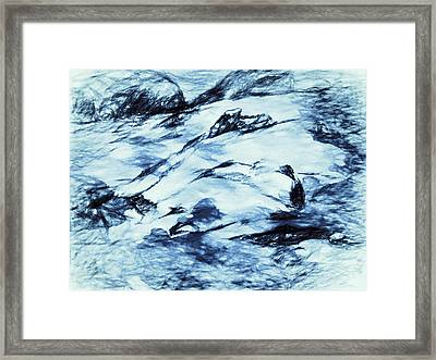 Winter Wasteland Framed Print by Jo-Anne Gazo-McKim