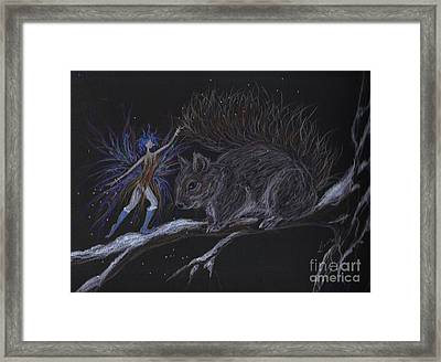 Winter Wear Framed Print