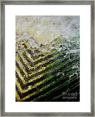 Winter Wedge Framed Print