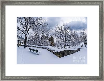 Winter Welcome Framed Print