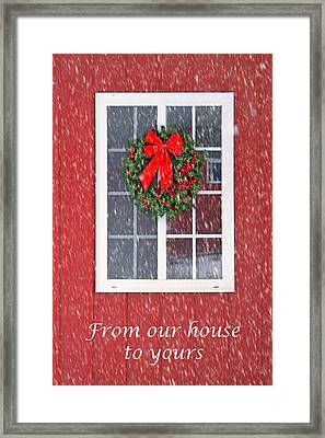 Winter Window #2 Framed Print by Nikolyn McDonald