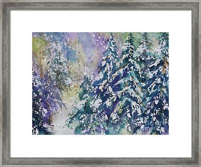 Winter Winds Framed Print by Ellen Levinson