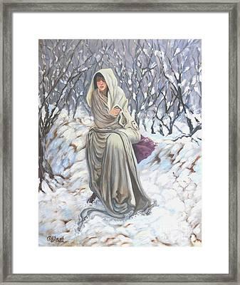 Winter Wonderland Framed Print by Caroline Street