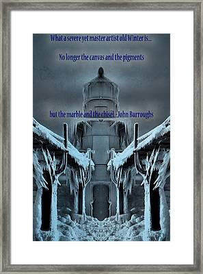 Winter Wonderland Framed Print by Dan Sproul