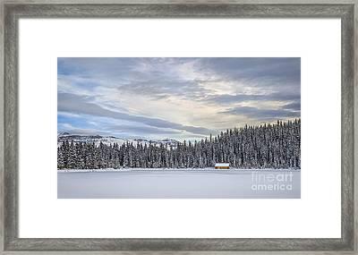 Winter Wonderland Framed Print by Evelina Kremsdorf