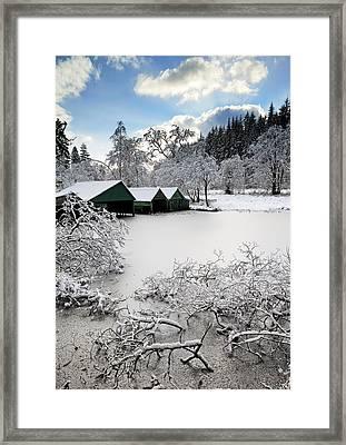 Winter Wonderland Framed Print by Grant Glendinning