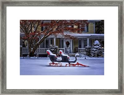 Winter Wonderland II Framed Print by Tricia Marchlik