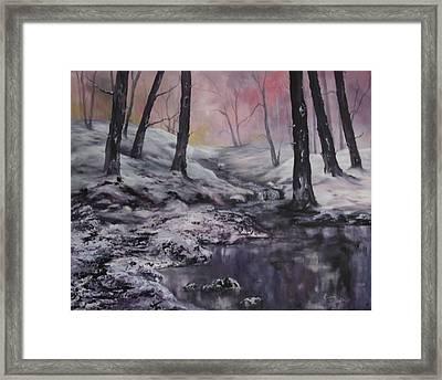 Winter Wonderland Framed Print by Jean Walker