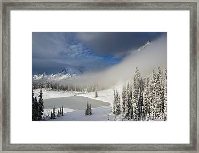 Winter Wonderland Framed Print by Mike  Dawson
