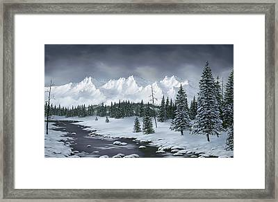 Winter Wonderland Framed Print by Rick Bainbridge