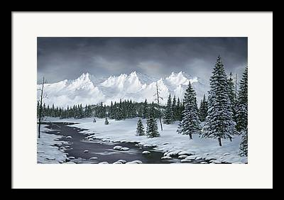 Winterscenes Framed Prints