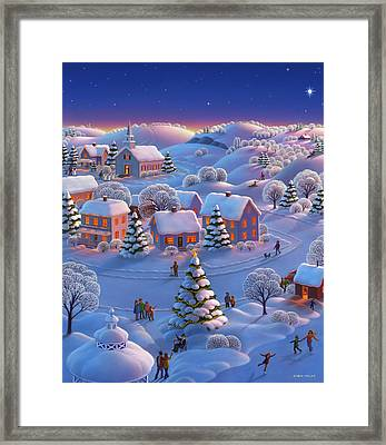 Winter Wonderland  Framed Print by Robin Moline