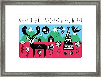 Winter Wonderland Framed Print by Susan Claire