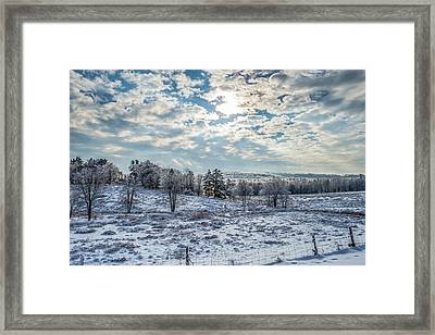 Winter Wonderland Framed Print by Tim Sullivan