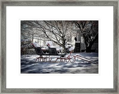 Winter Wonderland Framed Print by Tricia Marchlik