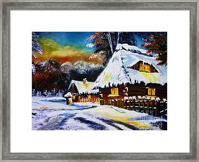 Winter Wonders Framed Print by Ryszard Sleczka