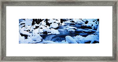 Winter Yosemite National Park Ca Framed Print by Panoramic Images