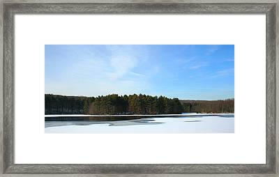Wintergreen Winterfrost Framed Print by Stephen Melcher