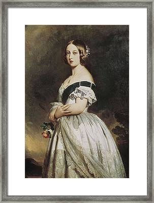Winterhalter, Franz Xavier 1805-1873 Framed Print by Everett