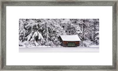Winterized Framed Print by Scott Thorp