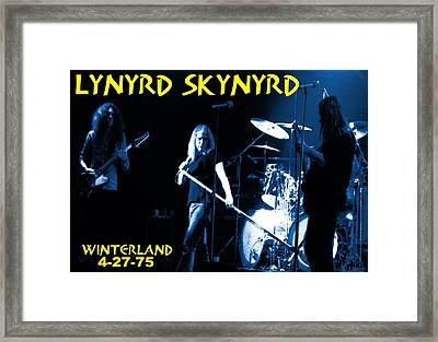 Winterland 4-27-75 Framed Print