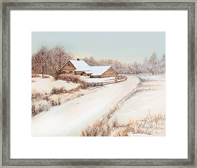 Winterness Framed Print