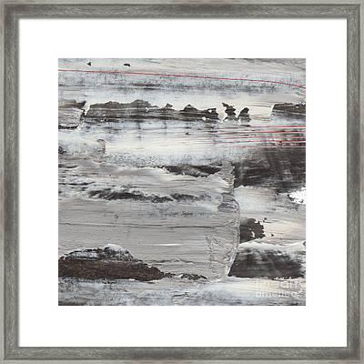 Winteroad Framed Print by Paul Davenport