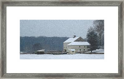Winter's Bite Framed Print by Gordon Beck